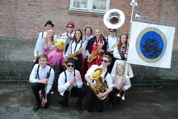 Storbandet etter deltakelse i Borgertoget 17. mai 2014