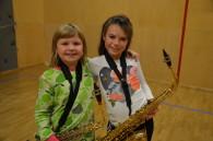 Nye på saxofon