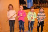 Fire flinke fløytister