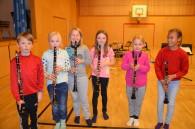 Kule klarinettister i Aspirantkorpset
