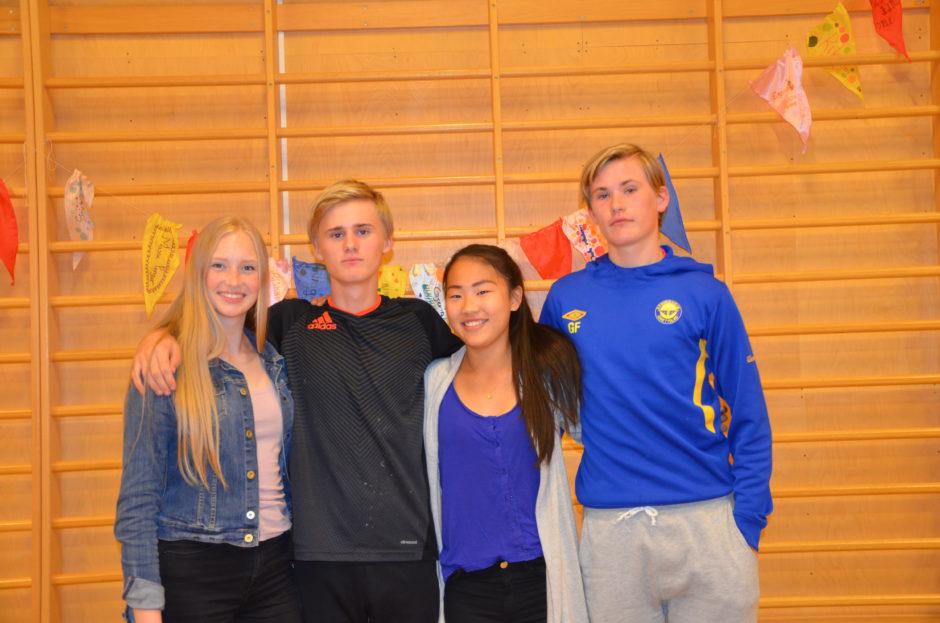 Årets juniorstyre på plass