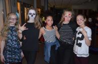 Skummel Halloween-feiring